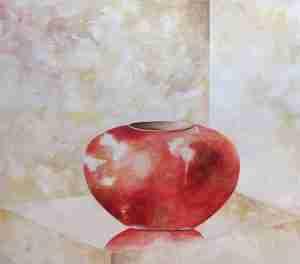 Cherish Series: Red Vase