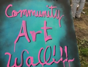 CAW: Community Art Wall