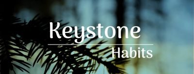Keystone habits have a ripple effect that creates big change in your life